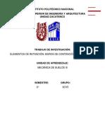 MUROS DE CONTENSIÓN Y TABLESTACAS
