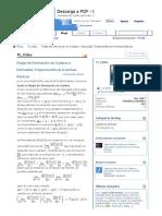 Regla de Derivación en Cadena y Derivadas Trigonométricas Inversas Básicas