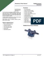 IDT FS2012-Flow Sensor