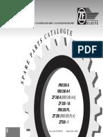 ZF 280 Manual de Despiece