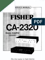 Fisher CA 2320
