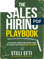 The Sales Hiring Playbook - Steli Ef