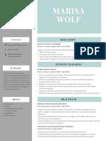 marisa wolf final new resume