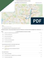 Pjs 4 Petaling Jaya Selangor Malaysia to Sentul Raya Boulevard - Google Maps