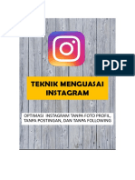 eBook - Teknik Sederhana Optimasi Instagram