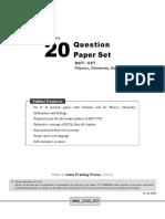 Mht Cet 20 Question Paper Set PCMB