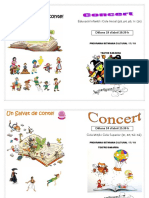 Programa Concert Matí i Tarda 17-18