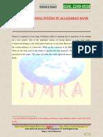 Allahada Bank Credit Appraisal
