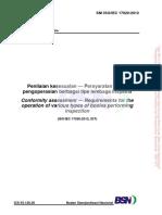 SNI ISO_IEC 17020_2012