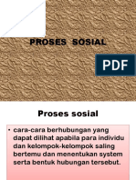 proses sosial