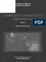 64047955 Gavrilas Chirurgia Peretelui Abdominal V1 1 Pag Fara Bibliografie