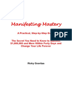 Manifesting Mastery - A Practical Step by Step Guide 02042014