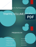 Traffic Volume Survey