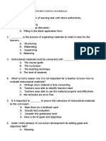 LET REVIEWER FOR INSTRUCTIONAL MATERIALS