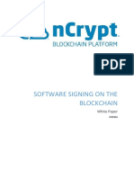 WP0156 Software Signing on the Blockchain v6