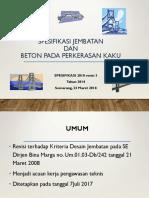 Spesifikasi Jembatan Dan Jalan Beton 2015 Rev 8 2018