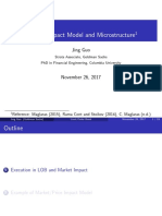 Lecture3 Market Impact Microstructure