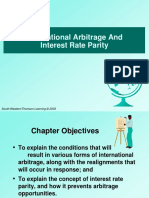 International Arbitrage and Parity