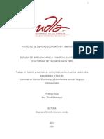 Estudio de Mercado Para La Comercializacion de Rosa Ecuatoriana de Calidadb Hacia Peru