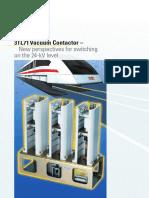 3TL71 Vacuum Contactors Brochure 7069