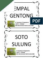 tag menu
