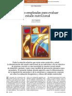 Medidas Empleadas Para Evaluar El Estado Nutricional