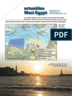 New Opportunities Offshore West Egypt