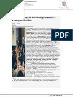 La Società Italiana di Tossicologia rinnova il Consiglio Direttivo - Farmacia33.it, 17 aprile 2018
