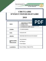 Circulaire d'Execution Budgetaire Madagascar 2018