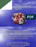 3) Derecho Constitucional de Familia