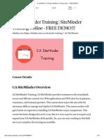 CA Siteminder
