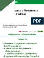 SOUZA, Bruno César Grossi de - Planejamento e Orçamento Federal