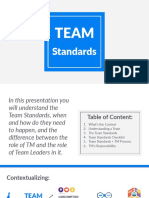3. the Improved Team Standards