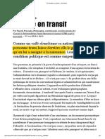 (1) Identité en Transit - Libération