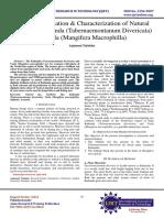Extraction, Isolation and Characterization of Natural Dye from Kathanda (Tabernaemontanum divericata) and Vaola (Mangifera macrophylla)