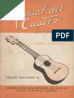 Manual Del Cuatro - Oscar Delepiani G