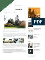 Guía Urbana de Santiago_ Parque de Las Esculturas, Plataforma Urbana