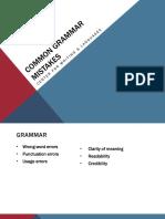 common grammar mistakes  1