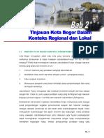 FINAL KOMPILASI BAB II Tinjauan Kota Bogor Dalam Konteks Regional Dan Lokal