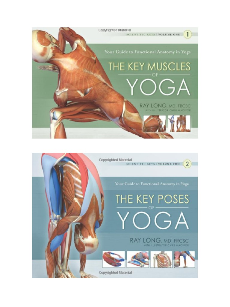 key muscles of yoga your guide to functional anatomy in yoga scientific keys 1