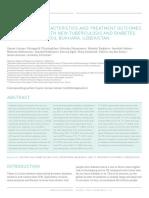 6 Treatment Outcomes Patients TB Diabetes Mellitus 11 13 Bukhara UZB