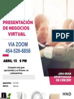 Presentacion Negocios Virtual