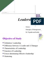 Unit 7 Leadership