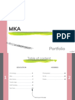 Portfolio Mka