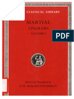 [Martial] Epigrams, Volume I Spectacles, Books 1-(BookFi)