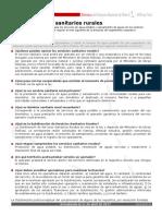 Ficha Servicios Sanitarios Rurales