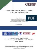 Dayse Miranda o Suicidio Policial No Estado Do Espirito Santo o Que Sabemos PDF