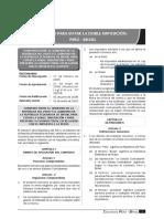 Convenio Peru Brasil