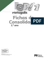 Top 1 - Fichas de Consolidação (Português)