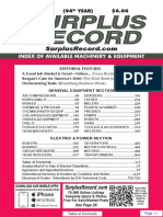 MAY 2018 Surplus Record Machinery & Equipment Directory